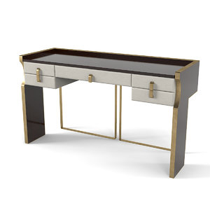 3D model capital trilogy console table