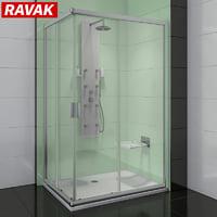 shower room ravak blix 3D