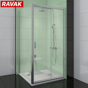 3D model shower room ravak blix