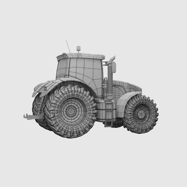 tractor 01 3D model