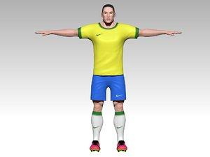 football player 3D