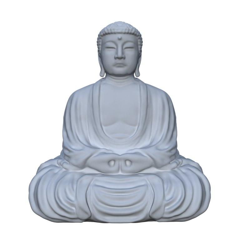 great buddha 3D model