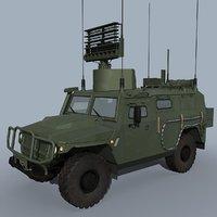 rampa-m-t russian radar 3D model
