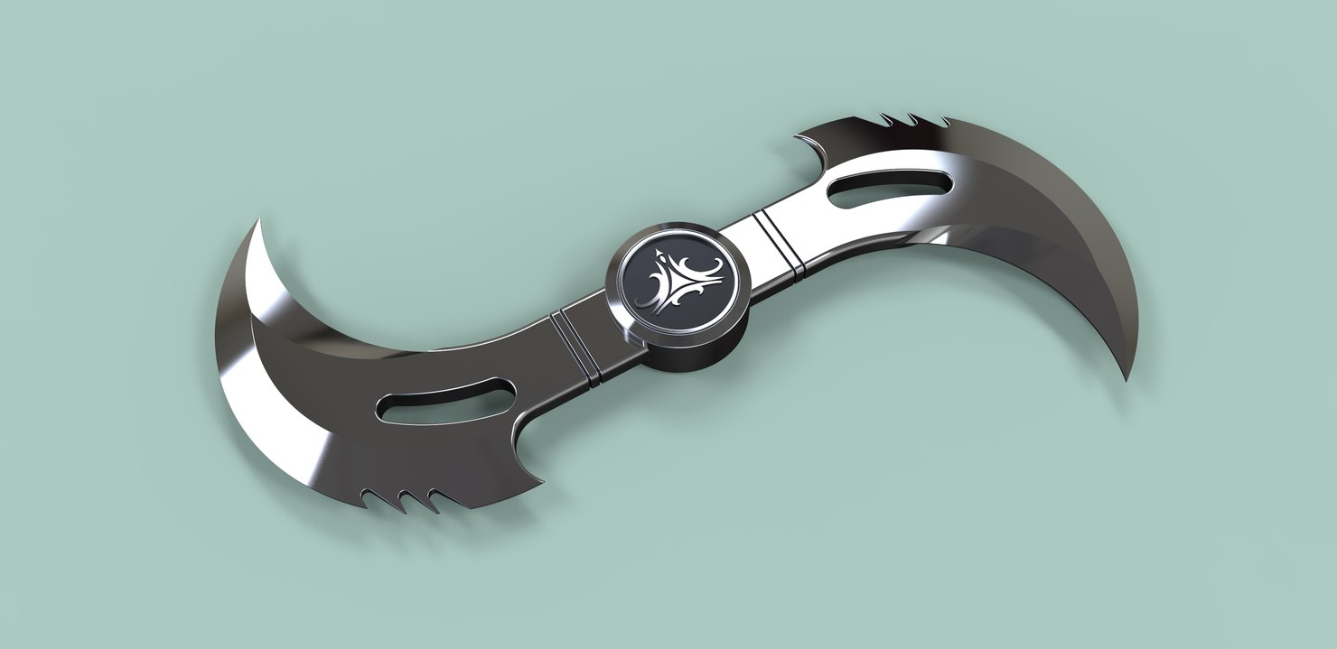 blade glaive movie 3D model
