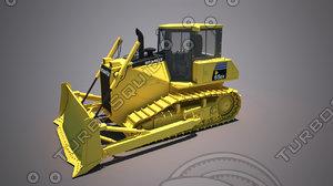 bulldozer komatsu 65ex 3D