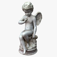 cupid angel 3D model