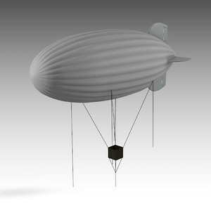 3D zeppelin observing model