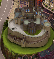 old gothic medieval 3D model