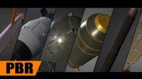 pack bomb missile 3D model