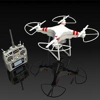 phantom drone controller 3D