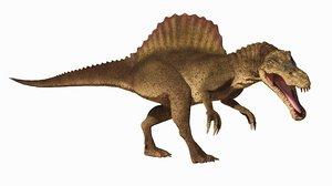 3D cat spinosaur