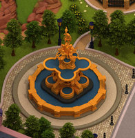 Ross Fountain(low poly)