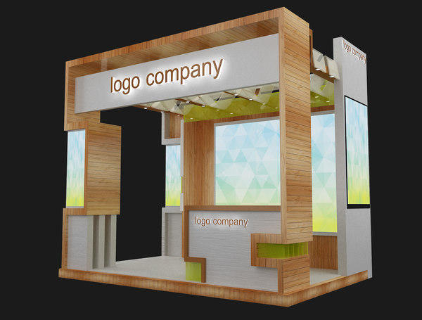 stand exhibition booth 3D model