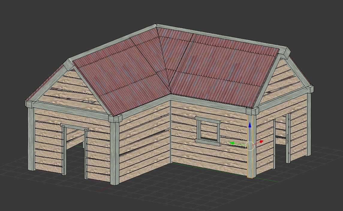 3D cabine model