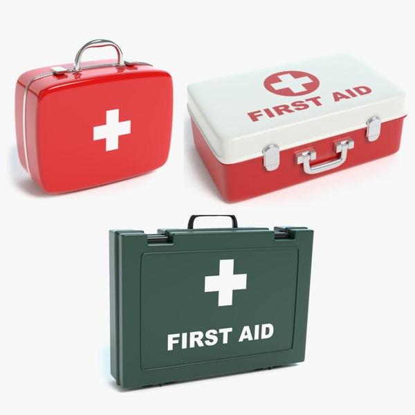 set aid kit 3D model