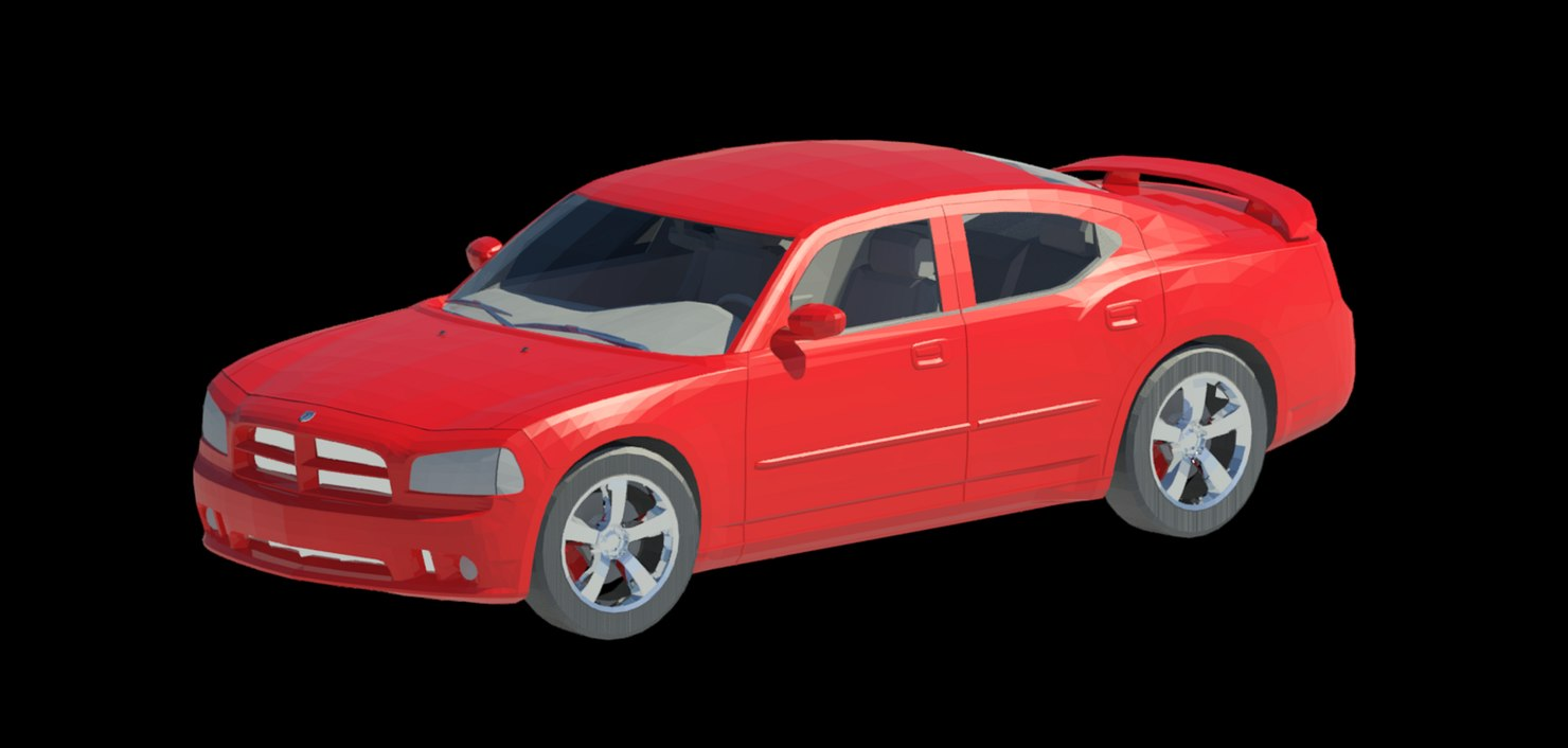 revit car family 3D model