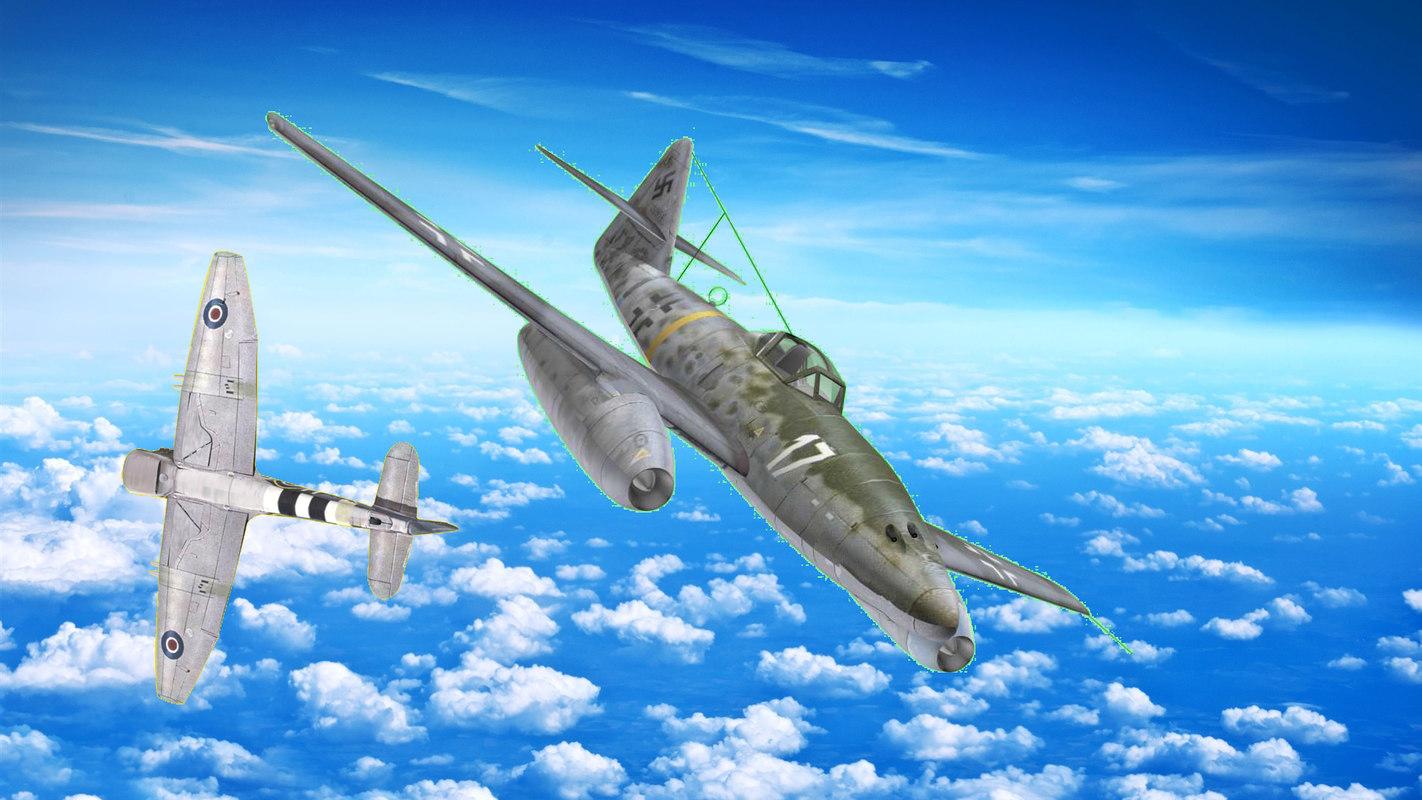 messerschmitt 262 3D