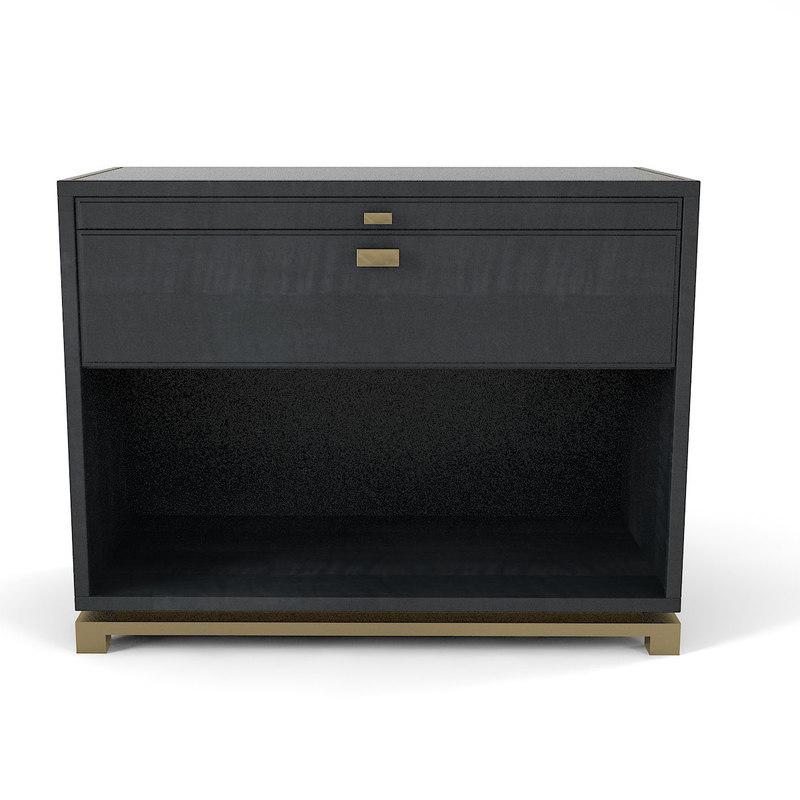 orsi bronze bedside 3D