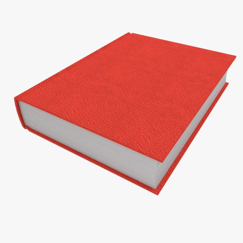 3D model closed book