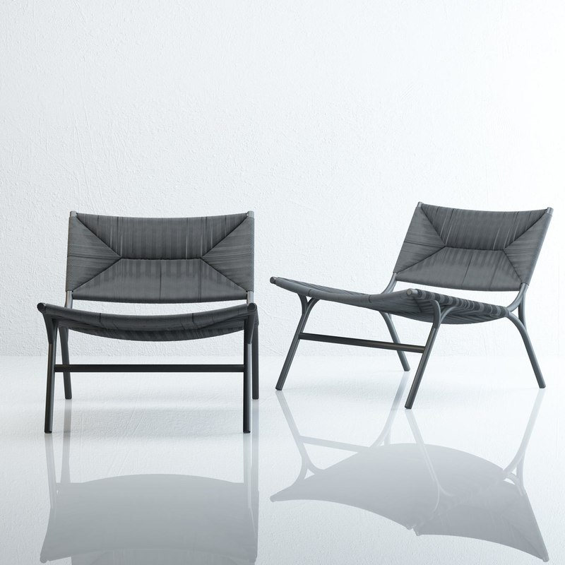 kavehome faberge armchair 3D