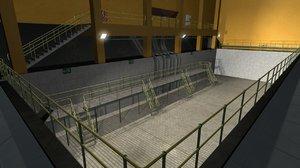 station pump 3D model