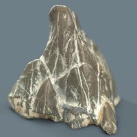 3D suiseki rocks scholars model
