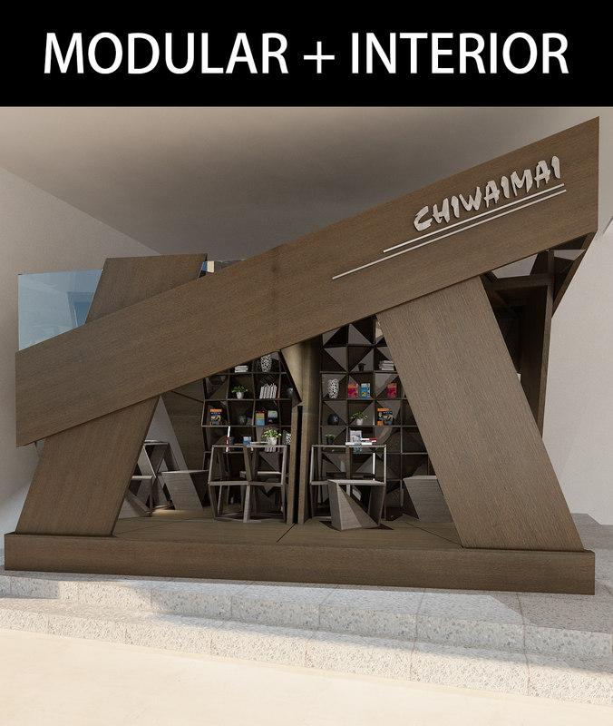 modular plywood 3D