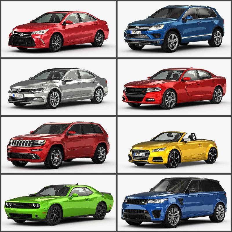 car 2015 3D