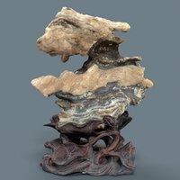 3D suiseki landscapes