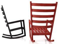 3D ikea värmdö chair