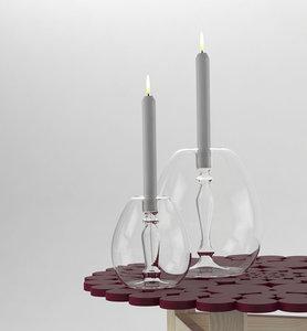 mint abra candelabra 3D model