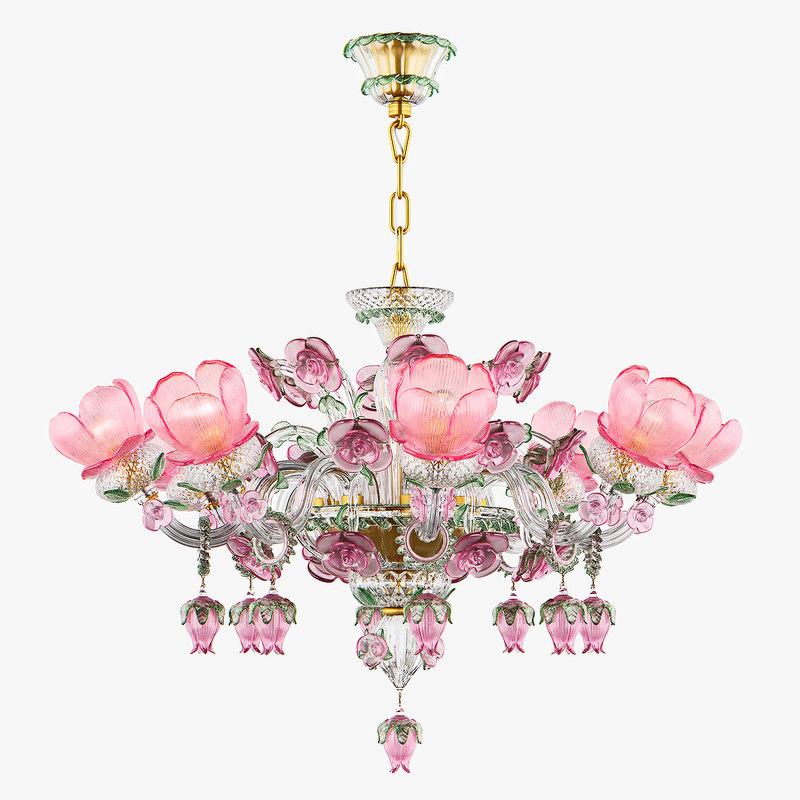 chandelier md 89337-8 osgona 3D model