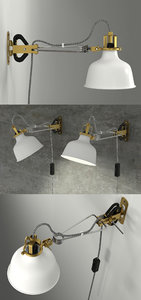 ikea ranarp lamp 3D model