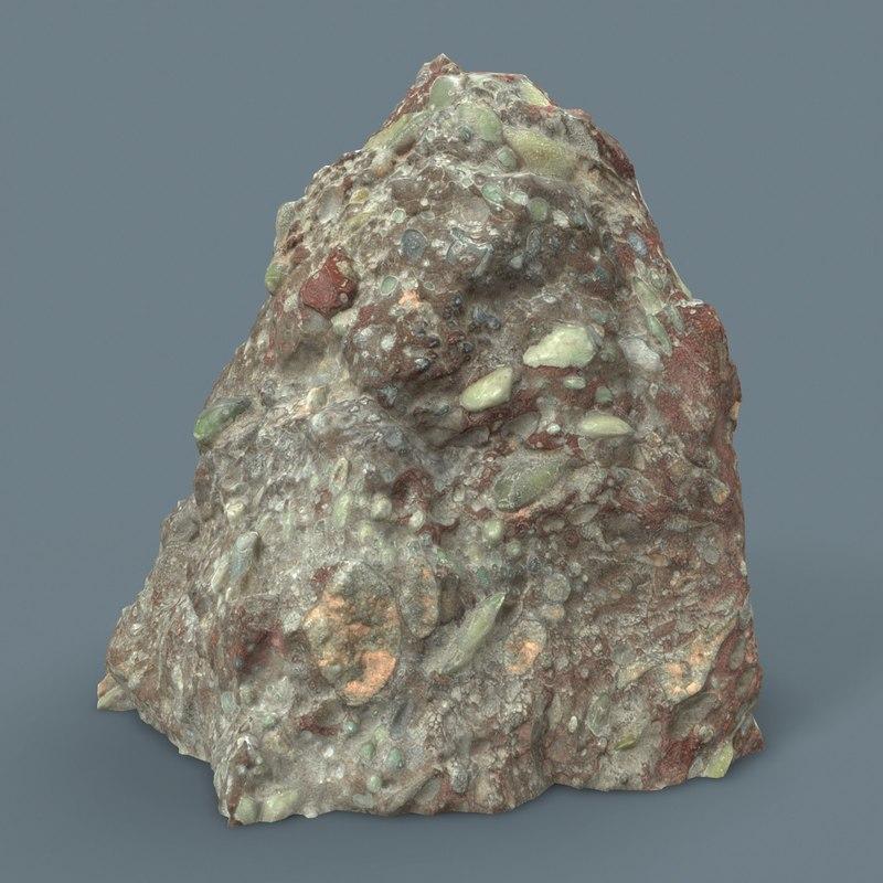 3D suiseki rocks scholars