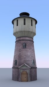 railway tower 3D model