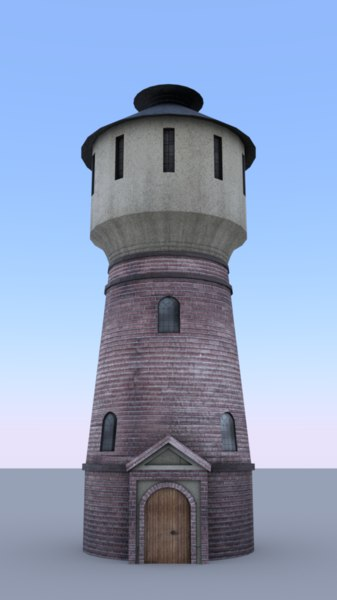 railway tower 3D model