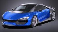hqlp car 3D model