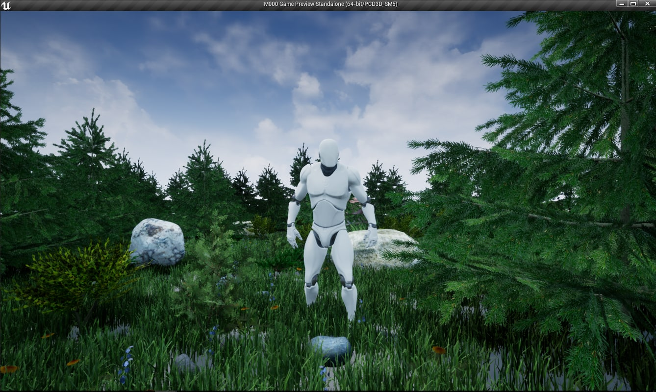 Low poly nature pack for UE4