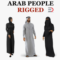 Arab People Collection 2 Rigged