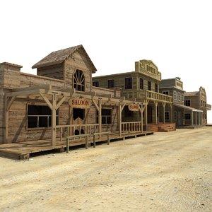 western city 3D