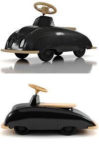 playsam saab roadster 3D model