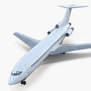 3D boeing 727-100 generic