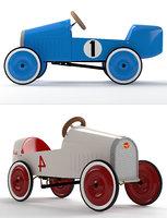rh montlhery pedal car 3D model