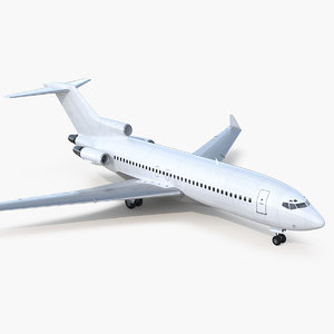 boeing 727-100 private generic 3D model