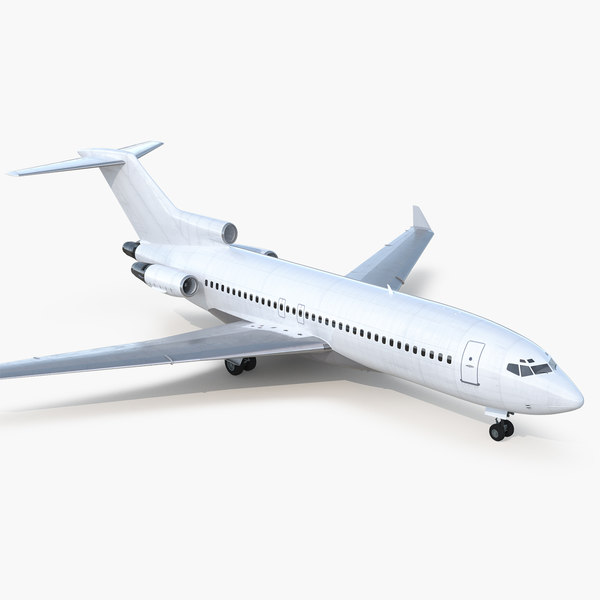 boeing 727-100 private generic 3D model