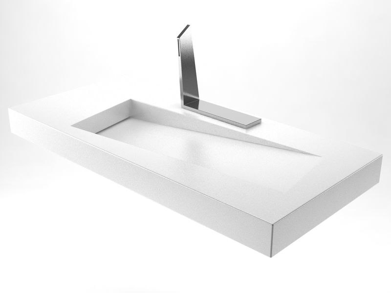 3D square sink