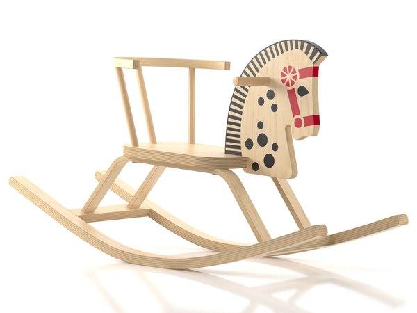 offi baltic rocking horse model