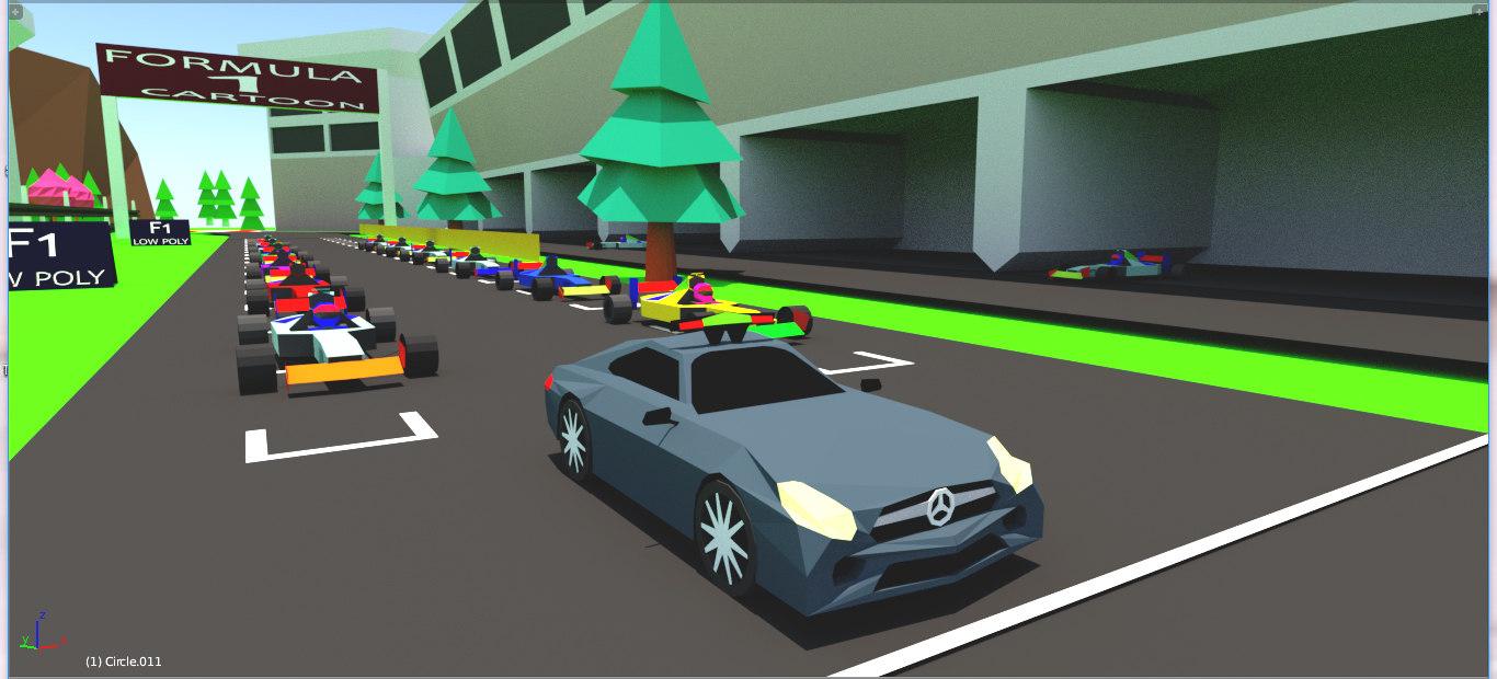 3D games modele model