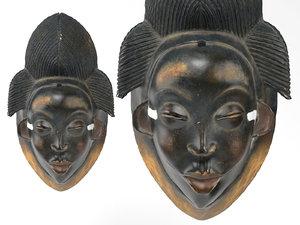 african gabon punu - 3D model