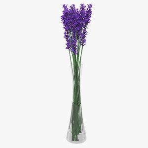 lavender vase 3D model